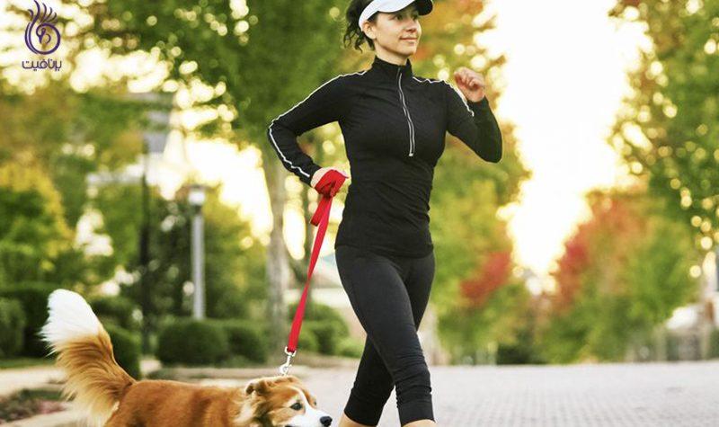 پیاده روی تند- ورزش- برنافیت