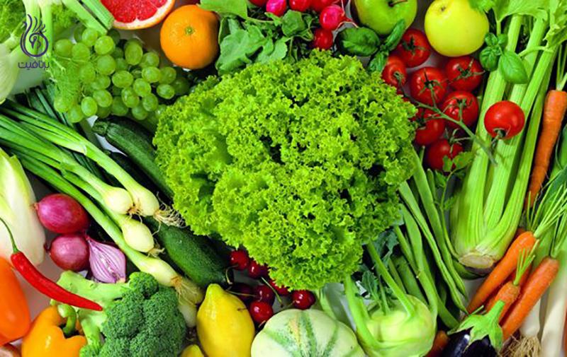 مواد غذایی قلیایی- تغذیه- برنافیت