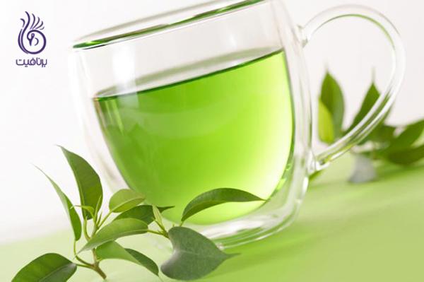 بوی دهان- چای سبز- برنافیت
