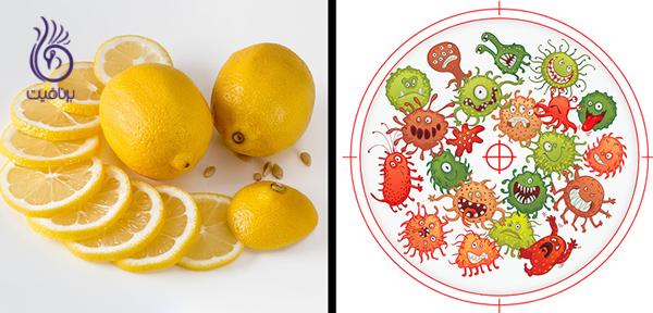 مواد غذایی قلیایی- لیمو- برنافیت