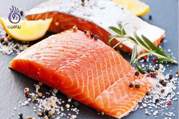 رژیم چاقی- سالمون- برنافیت