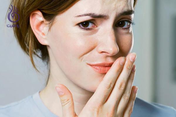 بوی دهان- منشا بوی بد دهان- برنافیت