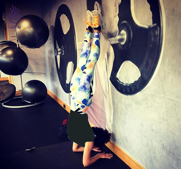 ناتالی امانوئل- حرکات ورزشی سخت- برنافیت