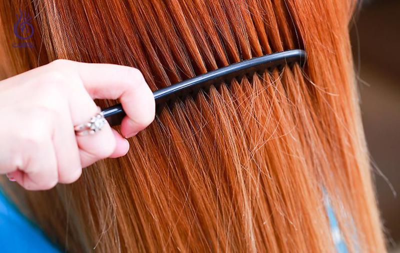 موهای خشک- زیبایی- برنافیت