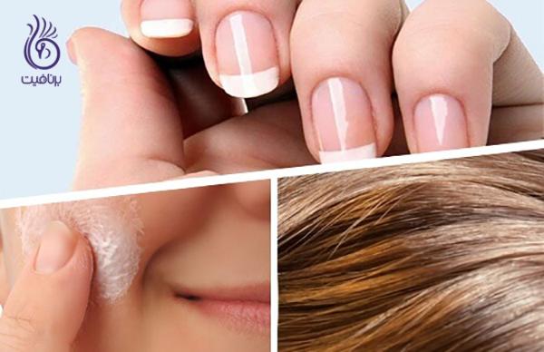 بیوتین و مو - زیبایی مو، پوست و ناخن- برنافیت