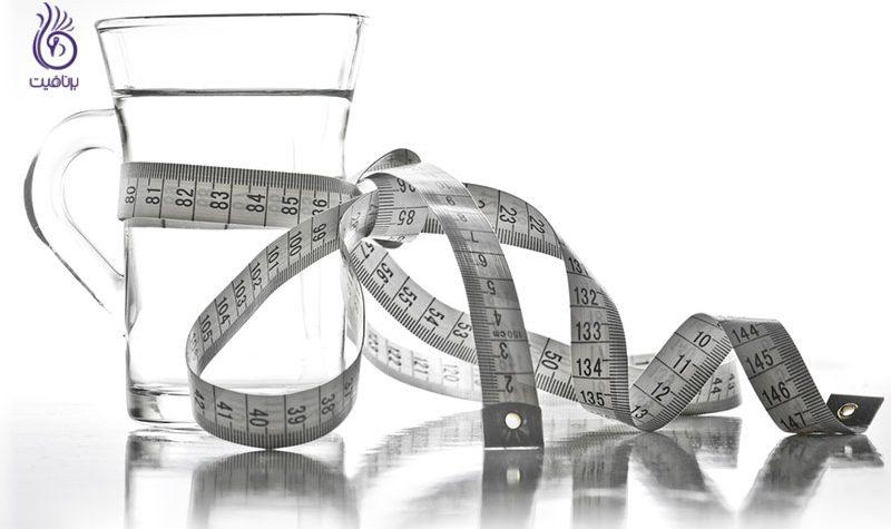 کاهش وزن با آب