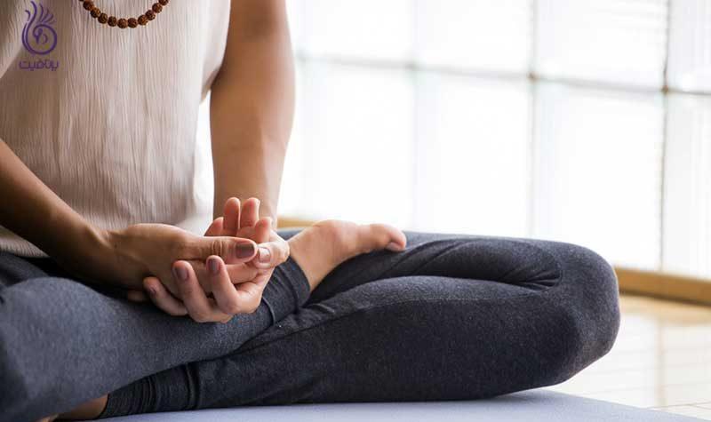 کاهش استرس با مدیتیشن