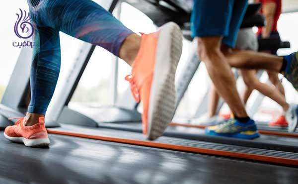tread کاهش وزن با تردمیل