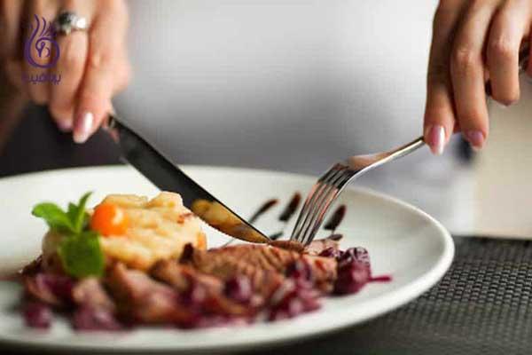 French Table Etiquette ترفندهای رژیمی