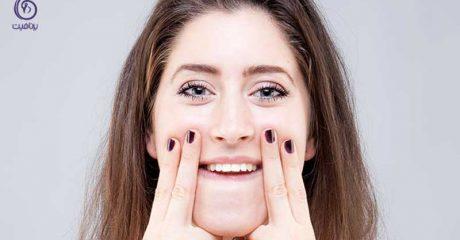 لاغر کردن صورت