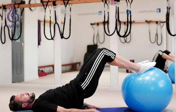 ورزش برای زانو