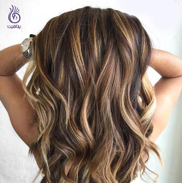 رنگ موهای زمستانی