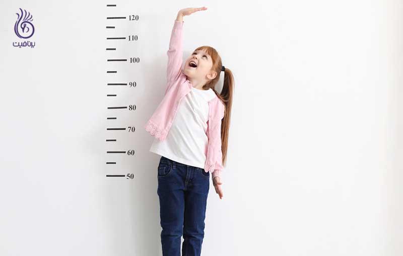 افزایش رشد قد کودکان