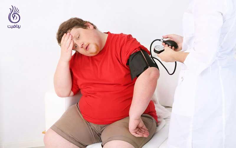 چاقی و بیماری - فشار خون