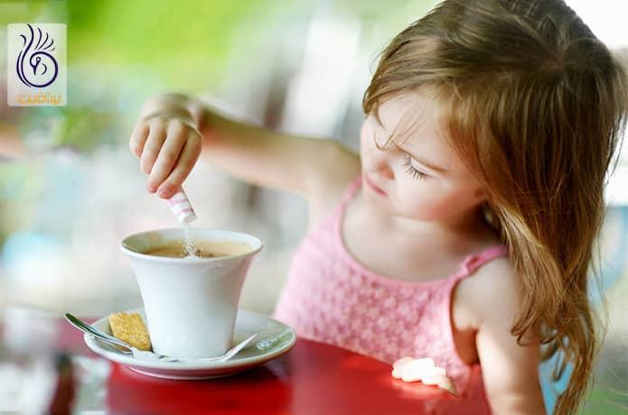 ضررهای قهوه برای کودکان