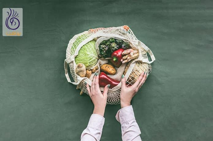 بادام و گیاه خواری