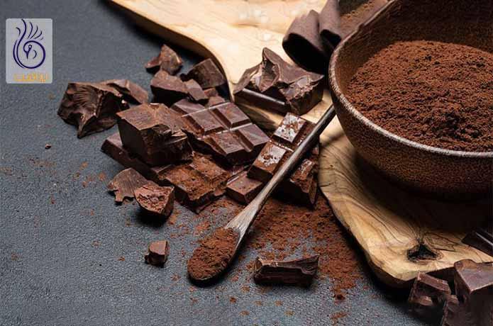 مصرف شکلات تلخ برای آب کردن پهلو