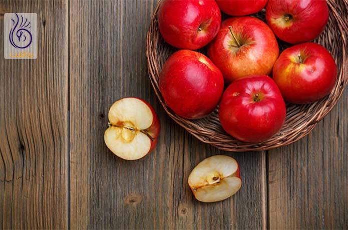 مصرف سیب برای آب کردن پهلو