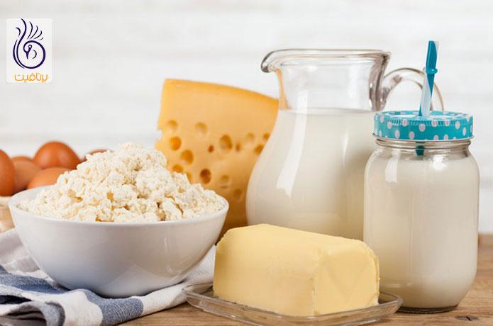 کاهش وزن بدون ورزش - مصرف پروتئین - برنافیت دکتر کرمانی