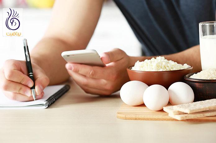کالری مورد نیاز برای کاهش وزن - کالری شماری -برنافیت دکتر کرمانی