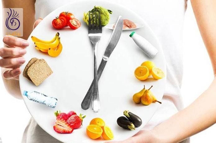 رژیم بارداری - وعدههای غذایی - برنافیت دکتر کرمانی