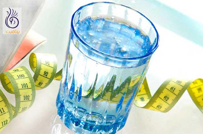 لاغری با آب - کاهش وزن - برنافیت دکتر کرمانی