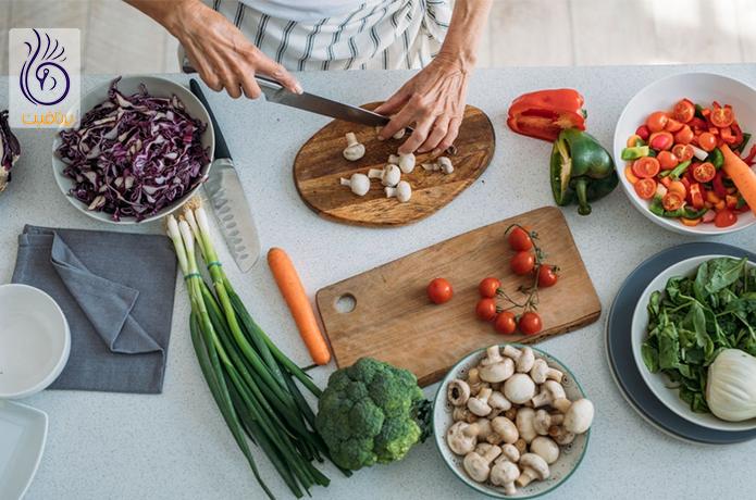 میوه با سبزیجات جلوگیری از ویروس کرونا