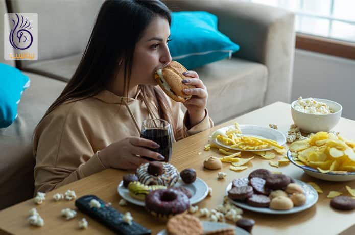 پرخوری عصبی و افزایش وزن