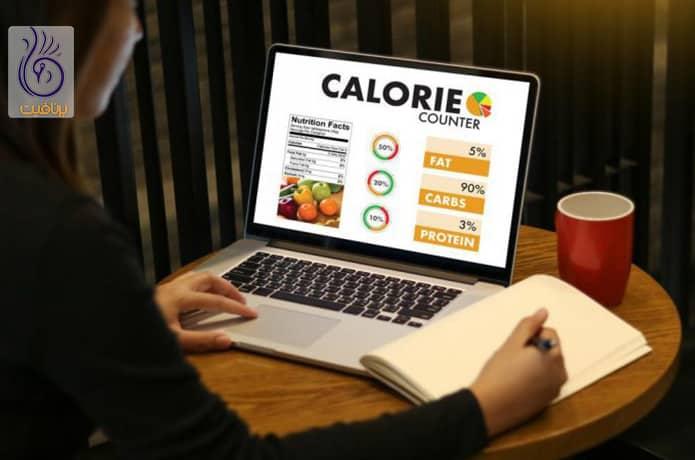 کاهش وزن و کالری شماری