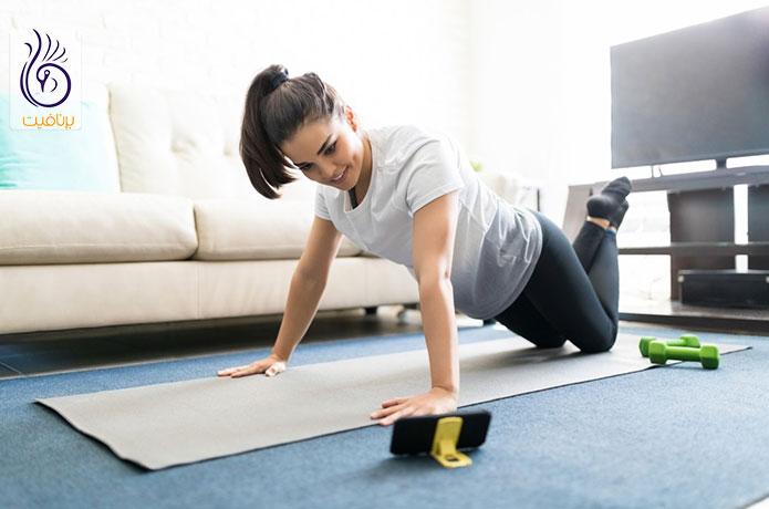 لاغری با ورزش در خانه - برنافیت دکتر کرمانی