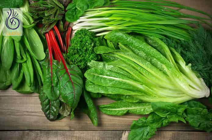 مصرف سبزیجات برگ دار
