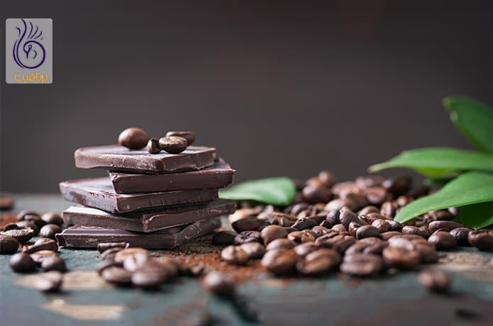 مصرف شکلات تلخ