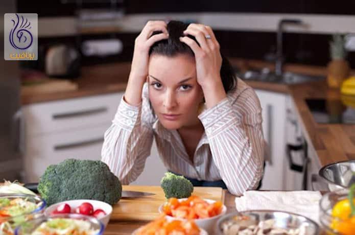 ضعف اعصاب و کاهش وزن