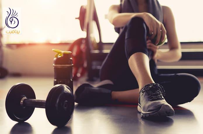 کاهش وزن در خانه با ورزش
